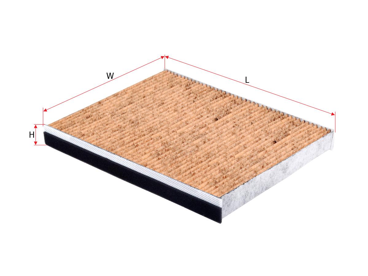 Антибактеріальний фільтр салону Sakura CAV-31060
