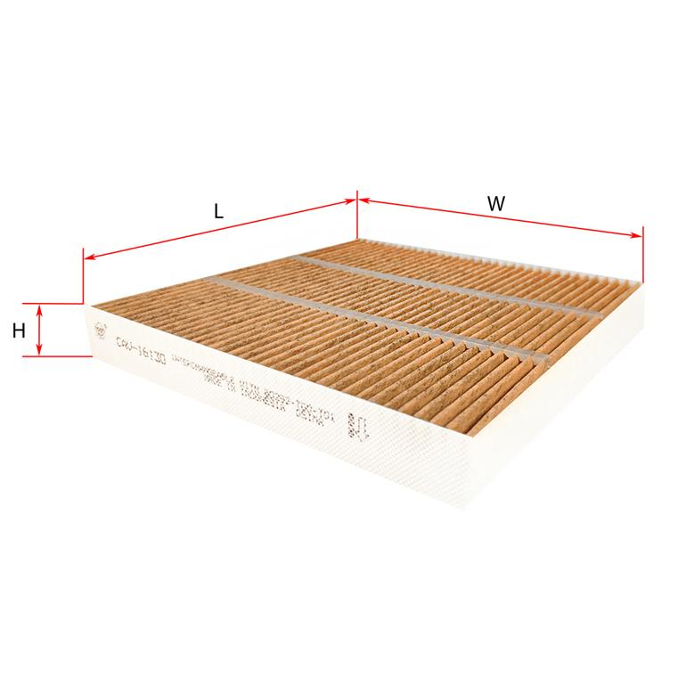 Антибактеріальний фільтр салону Sakura cav16130