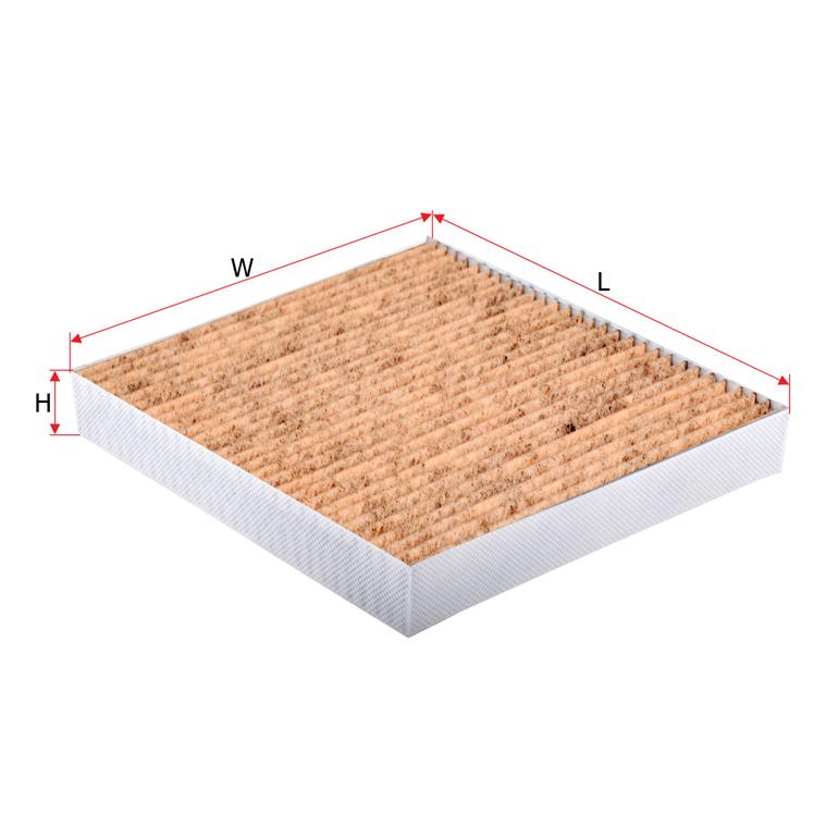 Антибактеріальний фільтр салону Sakura cav18120